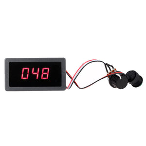 6V 12V 24V Digital Display LED DC Motor Speed Controller PWM Stepless Speed Control Switch