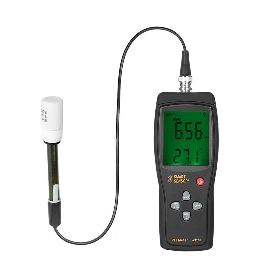 Smart Sensor Professional High Precision Portable pH Meter - Dynagem