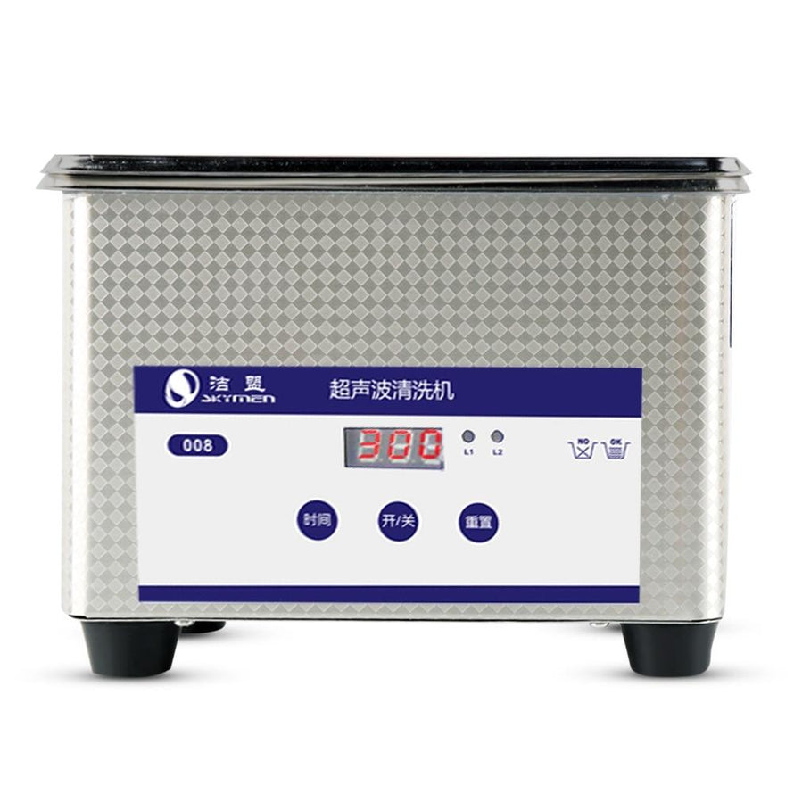 Multifunctional 0.8L Manicure Digital Timer Ultrasonic Cleaner Sterilizer Nail Art Tools Sterilizing Ultrasound Machine Washing