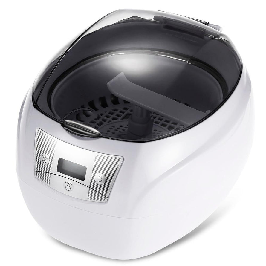 750ML Ultrasonic Cleaner 35W EU Plug Professional Washing Equipment Jewelry Watches Digital Ultrasonic Mini Cleaner