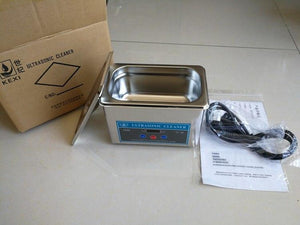 High Quality Digital Stainless Steel Ultrasonic Parts Cleaner Sonic Cleaning Equipment