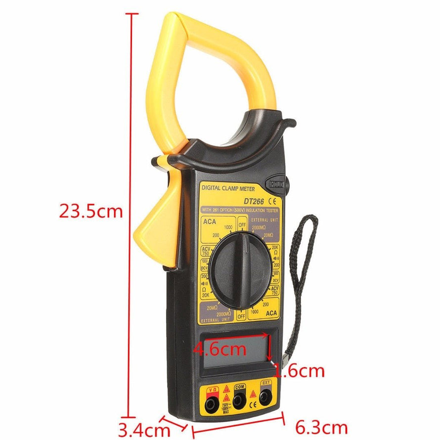 LCD Digital Clamp Multimeter