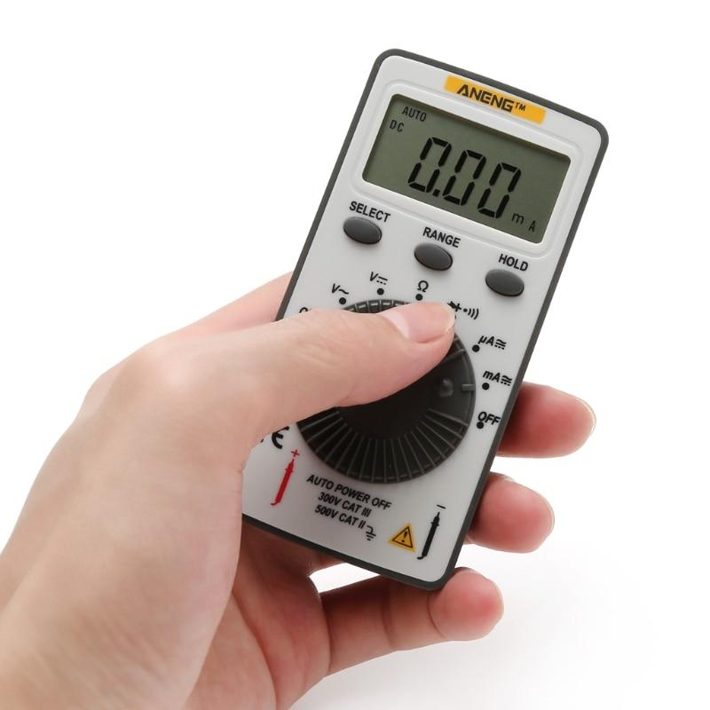 Pocket Digital Multimeter with Backlight