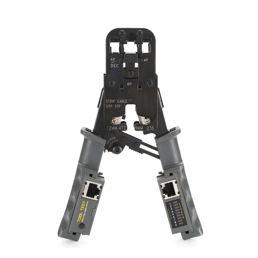 Network LAN Cable Crimper Pliers Cutting Tool