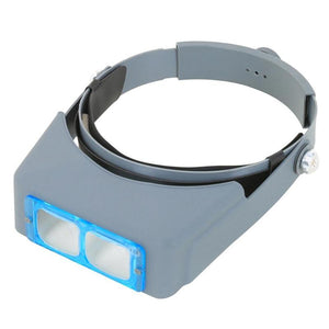 Double Lens Head-mounted Headband Magnifier Loupe