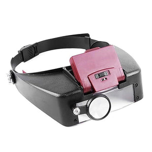 Adjustable Headband Lamp Magnifier