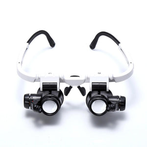 8x 15x 23x Double Eye Loupe - Dynagem