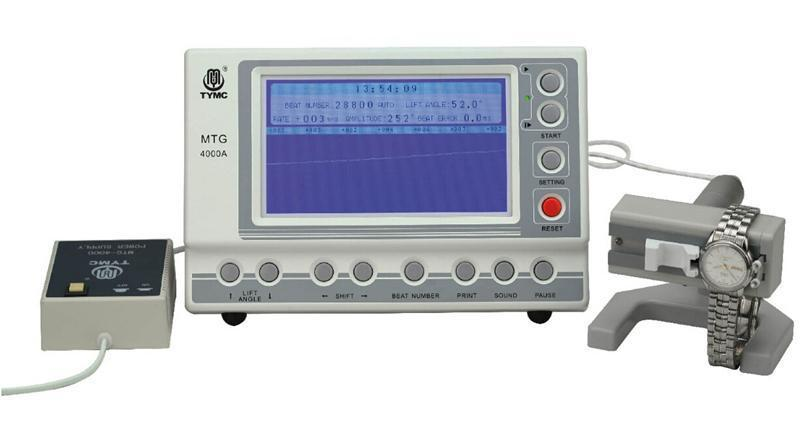 MTG-4000A Mechanical Watch Timing Machine