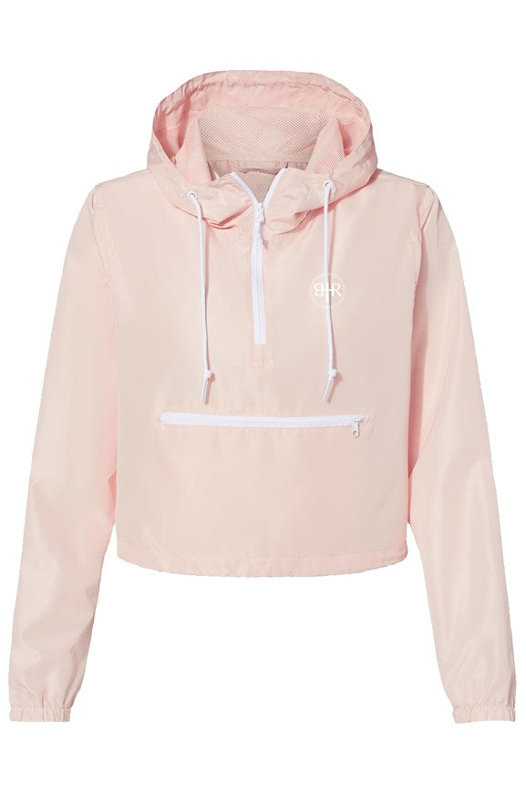 Faithful Lightweight Pullover Crop Windbreaker
