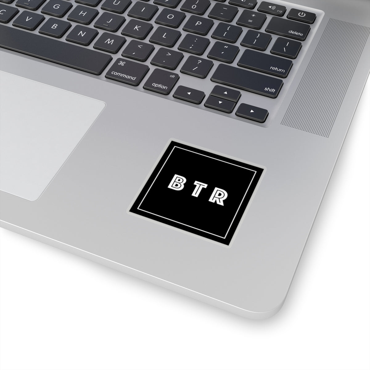 Square Logo Sticker