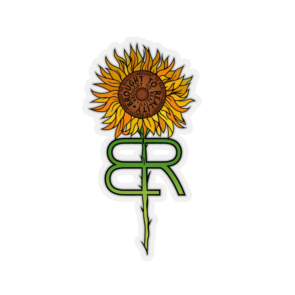 Ryanne's Sunflower of HOPE Kiss-Cut Stickers
