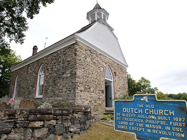 The Old Dutch Church in Tarrytown and Sleepy Hollow New York