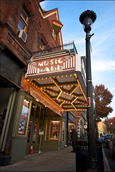 Historic Landmark Tarrytown Music Hall in Tarrytown New York