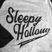 Sleepy Hollow Baseball Shirt Heads Will Roll Headless Horseman
