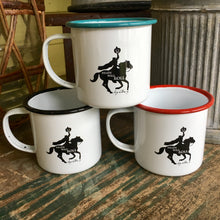 Headless Horseman Sleepy Hollow Enamelware Mug