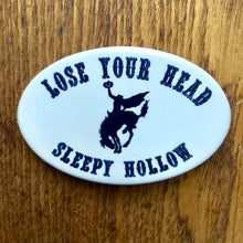 Sleepy Hollow Headless Horseman Souvenir Button Pin
