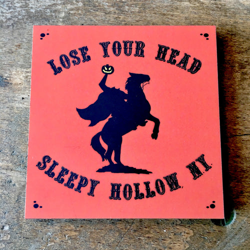 Headless Horseman Sleepy Hollow Magnet Lose Your Head