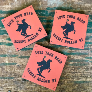 Sleepy Hollow Headless Horseman Souvenir Magnet