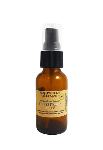 Stress Relief Plus Therapeutic Grade Prediluted Essential Oil Blend
