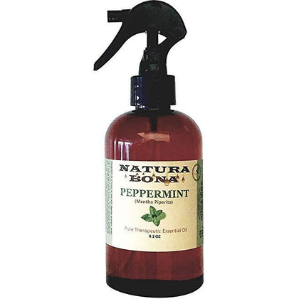 Peppermint Essential Oil Use to Naturally Repel Pests Insects; 8.2oz Spray