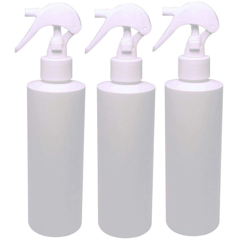 Natura Bona 8oz White Trigger Sprayer Bottle 3-Pack