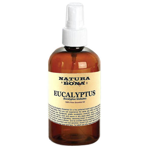 Eucalyptus Essential Oil 4oz Spray Bottle