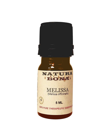Organic Melissa Essential Oil (Lemon Balm) 5ml Euro