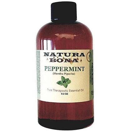 Peppermint Oil Refill Bottle. Use to Naturally Repel Pests, Critters and Insects; 8oz