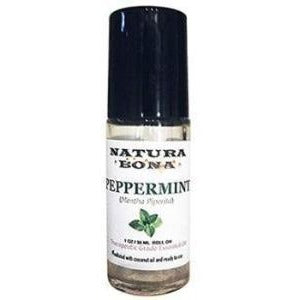 Therapeutic Grade Prediluted Peppermint Essential Oil; 30 mL Glass Roller Bottle