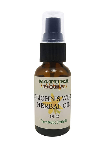 St Johns Wort Herbal Oil 1oz
