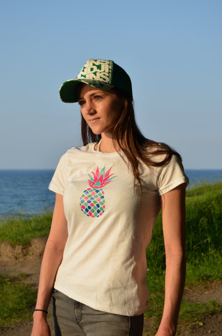 Deck Beach Club Pineapple T-Shirt 1 Pineapple