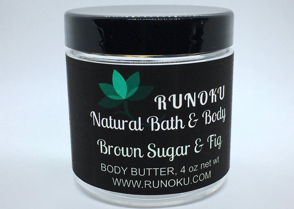 Brown Sugar & Fig Body Butter and Sugar Scrub Duo