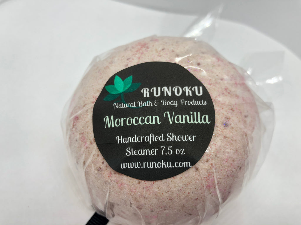 Moroccan Vanilla Shower Steamer 7.5oz