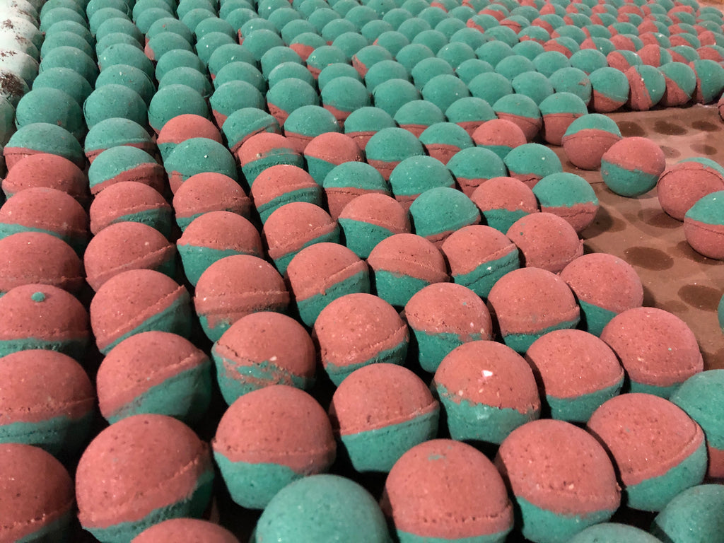 Cucumber Melon All Natural Bath Bomb