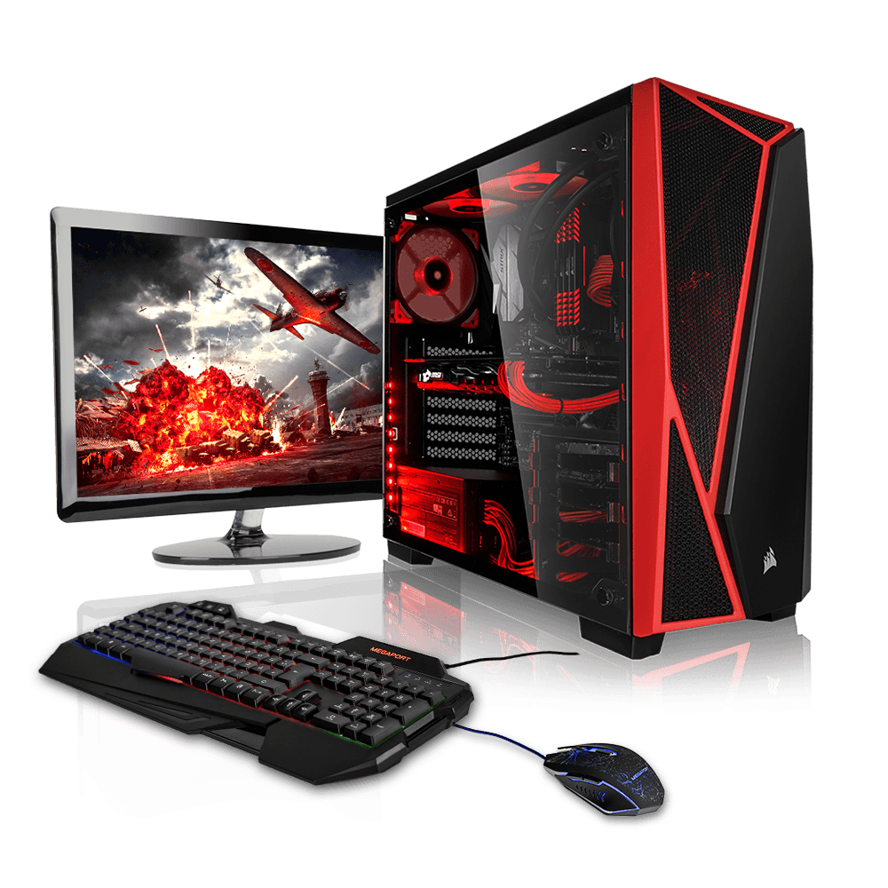 gaming desktop pc build