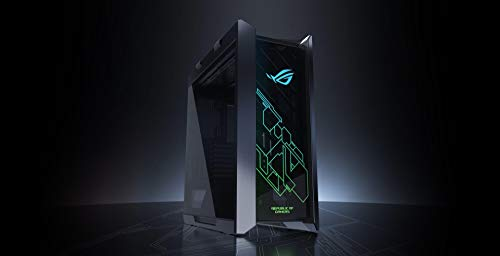 ASUS ROG Strix Helios GX601 PC Intel 8-Core i7-9700K 3.6GHz - 2TB 7200RPM + 240GB Solid State Drive - 32GB DDR4 SDRAM - Nvidia GeForce RTX 2080 8GB GDDR6 Graphics - Windows 10 Gaming Desktop