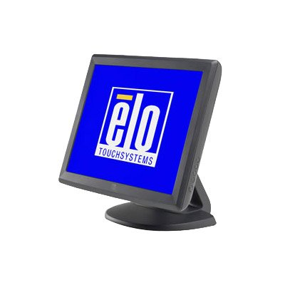 Elo 1000 Series 1515L Touch Screen Monitor - 15 - Surface Acoustic Wave - 1024 x 768 - 4:3 - Dark Gray - DUAL SER/USBPower Brick sold separately