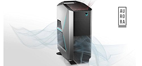 2017 Alienware Aurora R7-8th Gen Mid Size Gaming Tower PC (Intel Core i7-8700, 16GB Ram, 2TB HDD + 256GB SSD, DVD-RW) NVIDIA GeForce GTX 1070 with 8GB GDDR5 (Renewed)