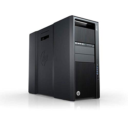 HP Z840 SOLIDWORKS Workstation E5-2687wv3 10 Cores 20 Threads 3.1Ghz 128GB 250GB NVMe 2TB Quadro K4200 Win 10 (Renewed)
