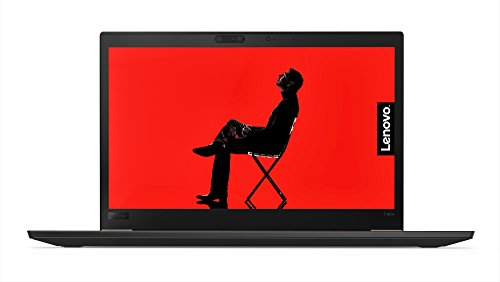 "2018 Lenovo ThinkPad T480s Windows 10 Pro Laptop - i5-8250U, 16GB RAM, 500GB SSD, 14"" IPS WQHD (2560x1440) Matte Display, Fingerprint Reader, Smart Card Reader, 4G LTE WWAN, Black"