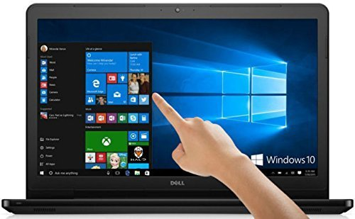 "2018 Flagship Dell Inspiron 15.6"" HD Touchscreen Business Laptop-AMD Core A6-9200 2.4GHz 8GB DDR4 128GB SSD+1TB HDD AMD Radeon R4 802.11ac MaxxAudio Pro HDMI Bluetooth Webcam USB 3.1 Win 10"