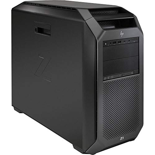 HP Z8 G4 Workstation 2X Bronze 3106 Eight Core 1.7Ghz 192GB RAM 256GB SSD Quadro P4000 Win 10 (Renewed)