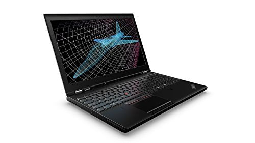 "Lenovo ThinkPad P50 20EN001HUS Laptop (Windows 10, Intel Core i7, 15.6"" LED-Lit Screen, Storage: 256 GB, RAM: 8 GB) Black"