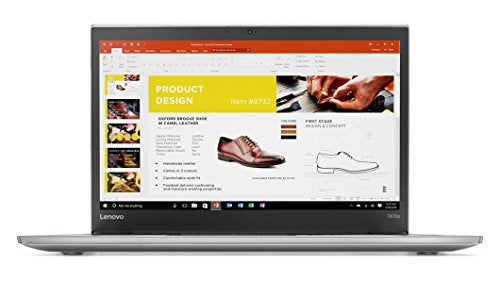 "Lenovo ThinkPad T470s Windows 10 Pro Laptop - Intel Core i7-7600U, 20GB RAM, 2TB PCIe NVMe SSD, 14"" IPS WQHD (2560x1440) Matte Display, Fingerprint Reader, Smart Card Reader, Silver Color"