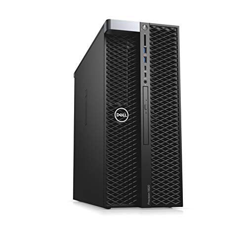Dell Precision T5820 Workstation, Intel Core X Series i7-7800X 6-Core 3.50GHz Processor, 32GB DDR4-2666MHz Memory, 1TB NVMe PCIe SSD, 2TB 7200RPM HDD, NVIDIA Quadro K1200 4GB, Windows 10 Pro