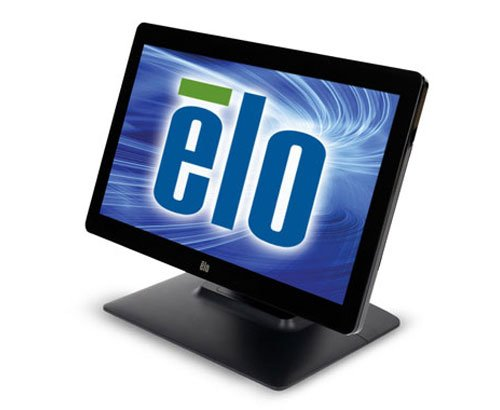 "Elo 1502L 15.6"" Projected Capacitive (PCAP) MultiTouch LCD LED Touch Screen Monitor, USB, 1920x1080, Zero-Bezel, Anti Glare, Black"