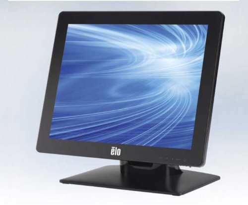 "Elo 1517L 15"" iTouch Touch Screen Monitor, Serial and USB Interface, Black"