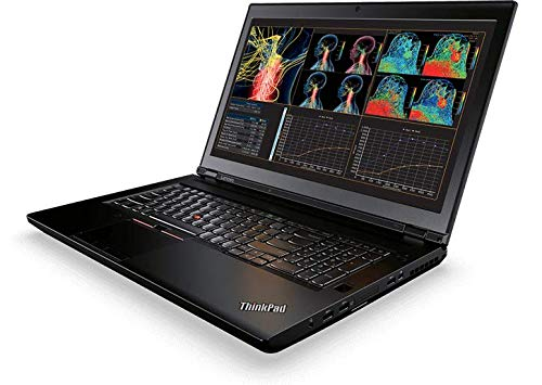 "Lenovo ThinkPad P71 Workstation - Windows 10 Pro - Intel Xeon E3-1505M, 8GB RAM, 1TB Hybrid Drive, 17.3"" UHD 4K 3840x2160 Display, NVIDIA Quadro P3000 6GB GPU, Color Sensor"