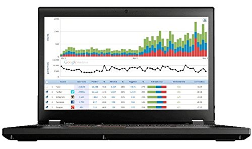 "Lenovo ThinkPad P51 Mobile Workstation Laptop - Windows 10 Pro - Intel Xeon E3-1535M, 16GB RAM, 1TB Hybrid Drive, 15.6"" UHD 4K 3840x2160 Display, NVIDIA Quadro M2200M 4GB GPU"