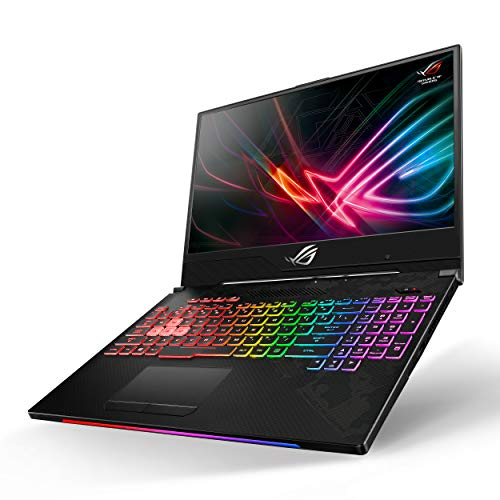 "Asus ROG Strix Scar II Gaming Laptop, 15.6"" 144Hz IPS Type Full HD, NVIDIA GeForce RTX 2070, Intel Core i7-8750H, 16GB DDR4, 512GB PCIe Nvme SSD, RGB KB, Windows 10, GL504GW-DS74"
